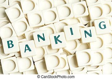 leter, בנקאות, עשה, מילה, חתיכות