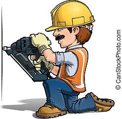 nailling, עובדים, -, בניה
