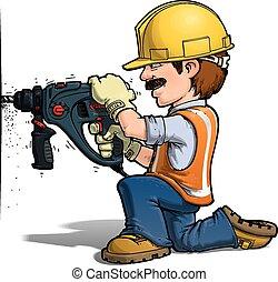nailling, עובדים, בניה, -