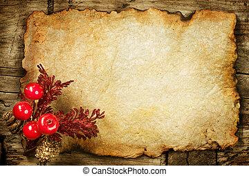 paper., ישן, קישוטים, כופיספאך, חג המולד