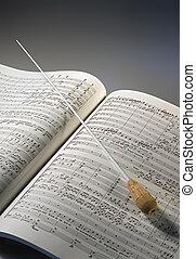 partiture, מוסיקה
