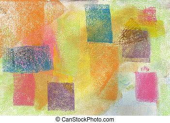 pastel:, גראנג, רקע