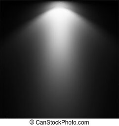 projector., אור, וקטור, דוגמה, קרן
