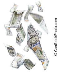 randomly, $100, לפול, חשבונות, לבן