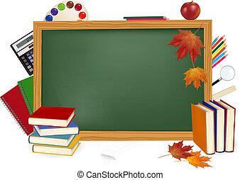 school., השקע, שולחן, ירוק