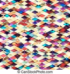seamless, וקטור, pattern., ראטרו