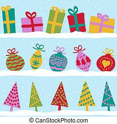 seamless, תבנית, חג המולד, השלג