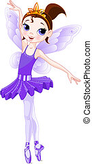 series)., סגול, (rainbow, רקדניות בלט, צבעים, רקדנית בלט