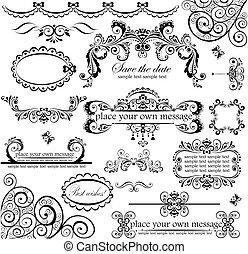 set., חתונה, design.
