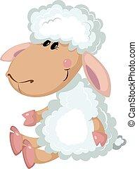 sheep, יושב