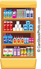 shelfs, בית, כימיקלים