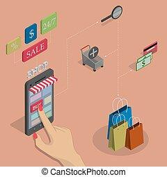 shopping., אונליין