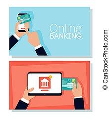 smartphone, בנקאות אונליין, טכנולוגיה, קדור