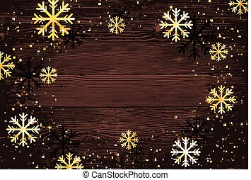 snowflakes., תקציר, מודרני, editable, דוגמה, חג המולד, רקע., וקטור, קל, template.