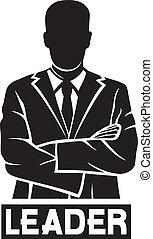 (successful, businessman), מנהיג