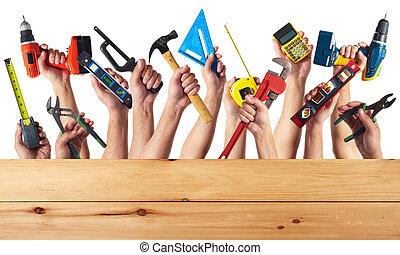 tools., ד.י.י., ידיים