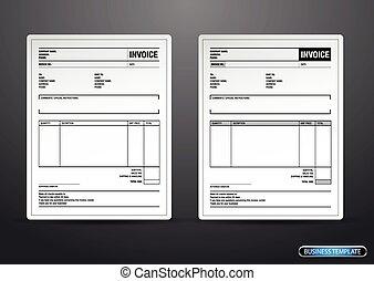 unfill, דפוסית, יצור, מס, נייר, חשבון