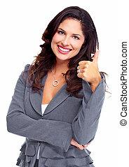 woman., success., עסק, שמח