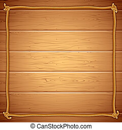 yuor, הסגר, wood., חבל, וקטור, דפוסית, טקסט